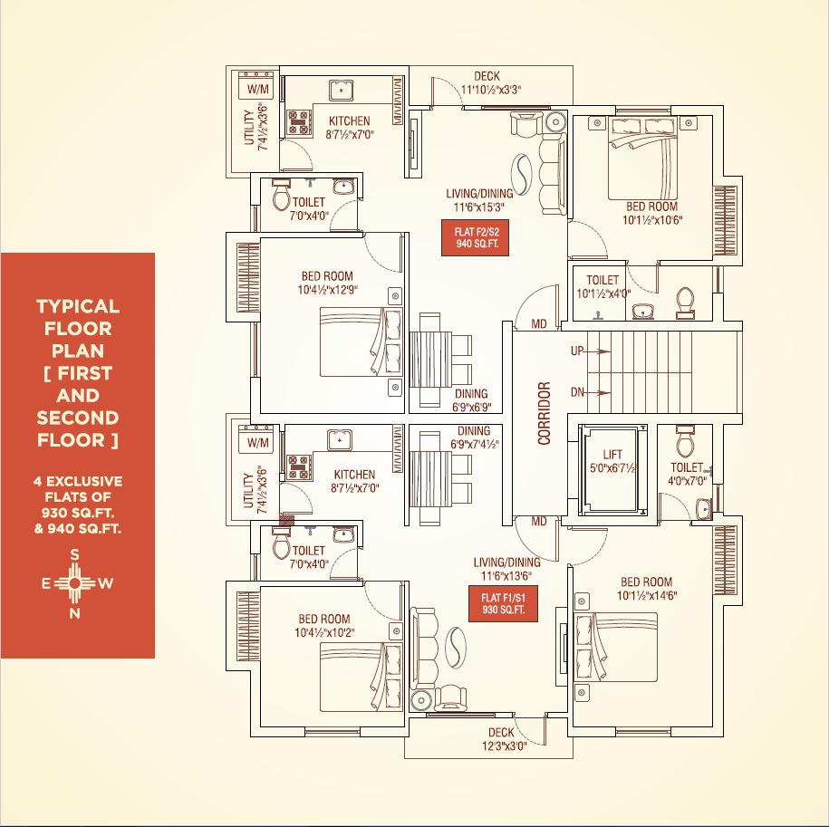 Dhanavanam Floor Plan